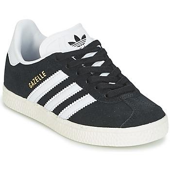 Čevlji  Dečki Nizke superge adidas Originals GAZELLE C Črna