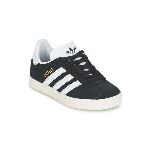 Čevlji  Otroci Nizke superge adidas Originals GAZELLE C Črna