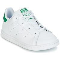 Čevlji  Otroci Nizke superge adidas Originals STAN SMITH I Bela / Zelena