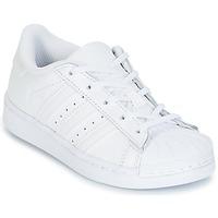 Čevlji  Deklice Nizke superge adidas Originals SUPERSTAR Bela