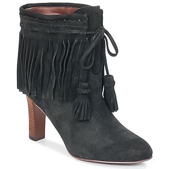 Čevlji  Ženske Gležnjarji See by Chloé FLIREL Črna