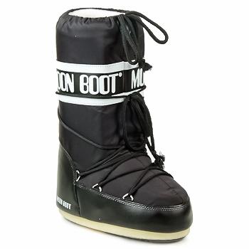 Čevlji  Ženske Škornji za sneg Moon Boot MOON BOOT NYLON Črna