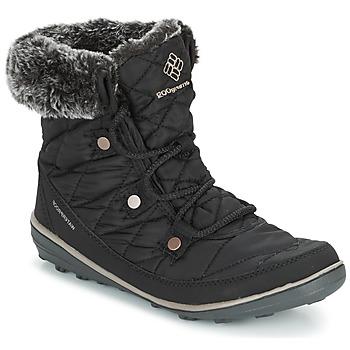 Čevlji  Ženske Škornji za sneg Columbia HEAVENLY SHORTY OMNI-HEAT Črna