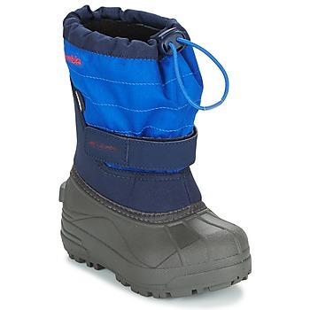 Čevlji  Otroci Škornji za sneg Columbia CHILDRENS POWDERBUG PLUS II Modra