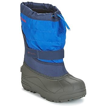 Čevlji  Otroci Škornji za sneg Columbia YOUTH POWDERBUG™ PLUS II Modra