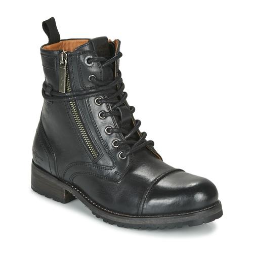 Čevlji  Ženske Polškornji Pepe jeans MELTING Črna