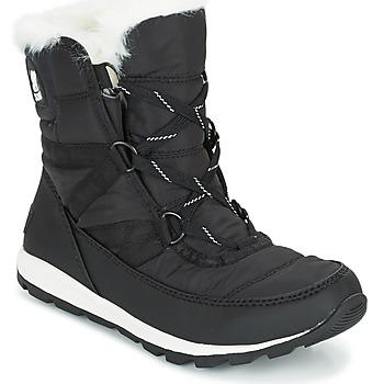 Čevlji  Ženske Škornji za sneg Sorel WHITNEY SHORT LACE Črna