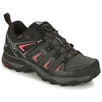 Čevlji  Ženske Pohodništvo Salomon X ULTRA 3 GTX® Črna / Rdeča