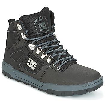 Čevlji  Moški Visoke superge DC Shoes SPARTAN HIGH WR Črna / Siva