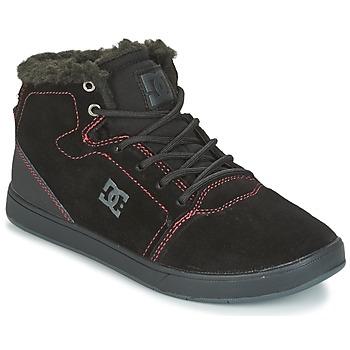 Čevlji  Otroci Visoke superge DC Shoes CRISIS HIGH WNT Črna / Rdeča / Bela