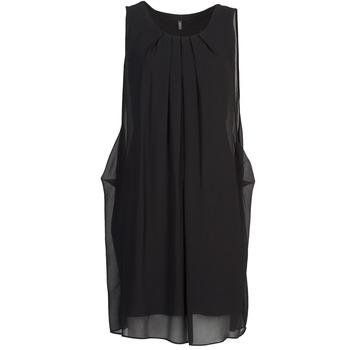 Oblačila Ženske Kratke obleke Naf Naf KLOLA Črna
