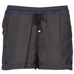 Oblačila Ženske Kratke hlače & Bermuda Naf Naf KAOLOU Črna
