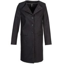 Oblačila Ženske Plašči Naf Naf APATI Črna