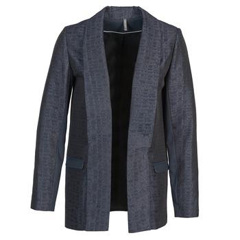 Oblačila Ženske Jakne & Blazerji Naf Naf ELYO Modra