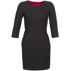 Oblačila Ženske Kratke obleke Naf Naf EPARCIE Črna