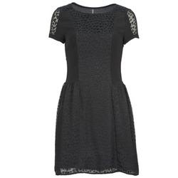 Oblačila Ženske Kratke obleke Naf Naf KEUR Črna