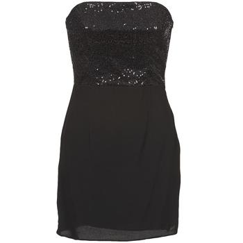 Oblačila Ženske Kratke obleke Naf Naf LYCHA Črna