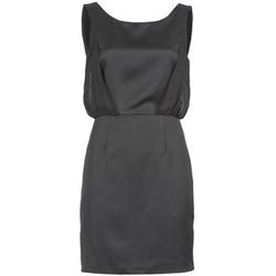 Oblačila Ženske Kratke obleke Naf Naf LYCOPINE Črna