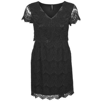 Oblačila Ženske Kratke obleke Naf Naf LYJO Črna