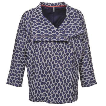 Oblačila Ženske Plašči Naf Naf ADARMELA Modra
