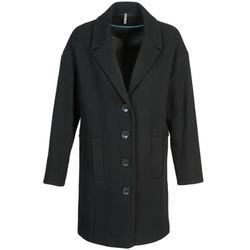 Oblačila Ženske Plašči Naf Naf ALEX Črna
