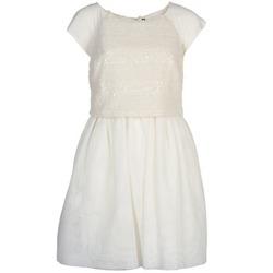 Oblačila Ženske Kratke obleke Naf Naf LYMELL Bela