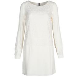 Oblačila Ženske Kratke obleke Naf Naf LYNO Kremno bela