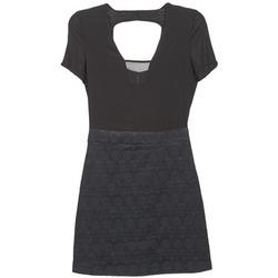 Oblačila Ženske Kratke obleke Naf Naf EKLATI Črna