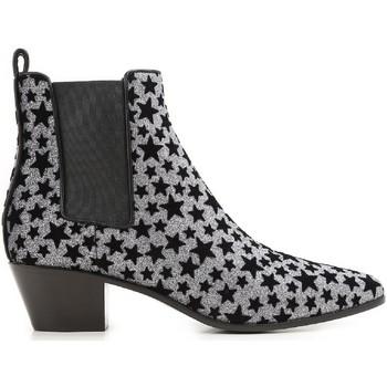 Čevlji  Ženske Gležnjarji Saint Laurent 443095 GRQ00 8135 Antracite