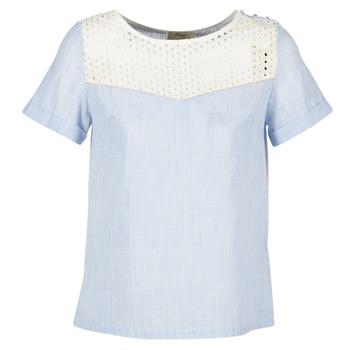 Oblačila Ženske Topi & Bluze Betty London GERMA Bela / Modra