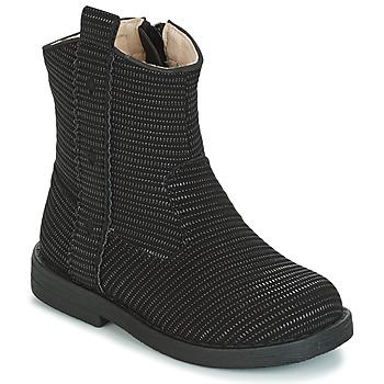 Čevlji  Deklice Mestni škornji    Mod'8 ZOULIA Črna