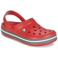 Čevlji  Cokli Crocs CROCBAND Rdeča
