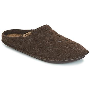 Čevlji  Nogavice Crocs CLASSIC SLIPPER Kostanjeva