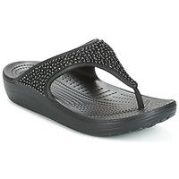 Čevlji  Ženske Sandali & Odprti čevlji Crocs SLOANE Črna