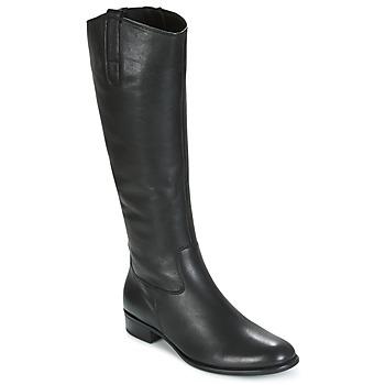 Čevlji  Ženske Mestni škornji    Gabor PARLONI Črna