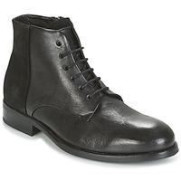 Čevlji  Moški Polškornji Kost MODER Črna