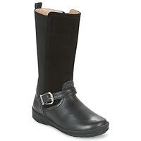 Čevlji  Deklice Mestni škornji    Garvalin NEW FLORES Črna