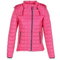 Oblačila Ženske Puhovke Superdry FUJI BOX QUILTED Rožnata