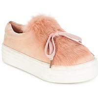 Čevlji  Ženske Nizke superge Coolway PLUTON Rožnata