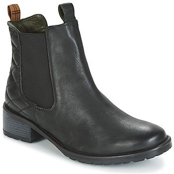 Čevlji  Ženske Gležnjarji Barbour LATIMER Črna