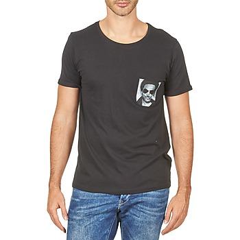 Oblačila Moški Majice s kratkimi rokavi Eleven Paris LENNYPOCK Bela
