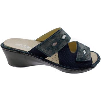 Čevlji  Ženske Natikači Calzaturificio Loren LOM2653bl blu