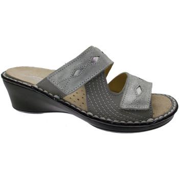 Čevlji  Ženske Natikači Calzaturificio Loren LOM2653gr grigio