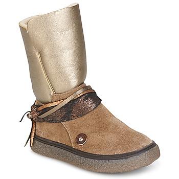 Čevlji  Deklice Mestni škornji    Catimini ROUGEGEORGE Cts / Taupe-baker / Dch / Glen