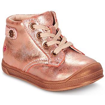Čevlji  Deklice Visoke superge GBB REGINE Rožnata