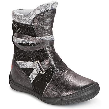 Čevlji  Deklice Polškornji GBB ROSANA Siva