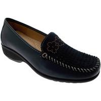 Čevlji  Ženske Mokasini Calzaturificio Loren LOK3971bl blu