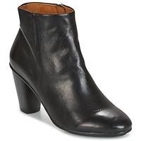 Čevlji  Ženske Gležnjarji n.d.c. AURORA ZIP Črna