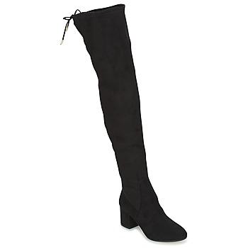 Čevlji  Ženske Visoki škornji Jonak GINA Črna