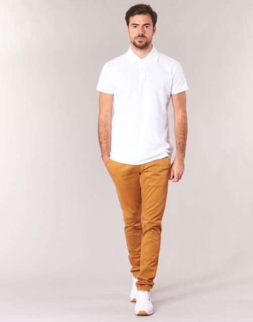 Oblačila Moški Hlače Chino / Carrot Casual Attitude IHOCK Bež